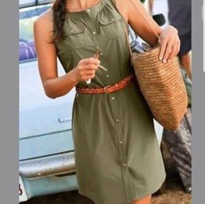 Athleta Shaper Dress in Olive